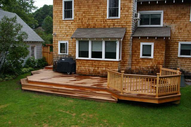 choice of decking