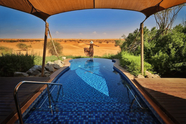 Al-Maha Desert Resort In Dubai